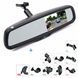 """4.3"""" LCD Car Rear View Mirror Monitor for Backup Camera Syst"""