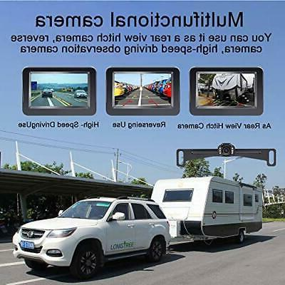 Backup Camera and Monitor Kit 720P Easy Installation for