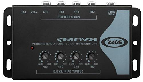 BOSS Audio BVAM5 In/Four Car Signal Amplifier Video Signal to Picture Systems