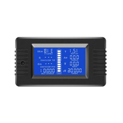 LCD DC Battery Monitor Meter Amp System Shunt