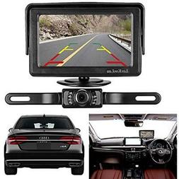 Vehicle Backup Cameras And Monitor Kit For Car/Vehicle/Truck