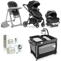 Video Baby Monitor Chicco Combo Set 6 Strollers in 1 Car Sea